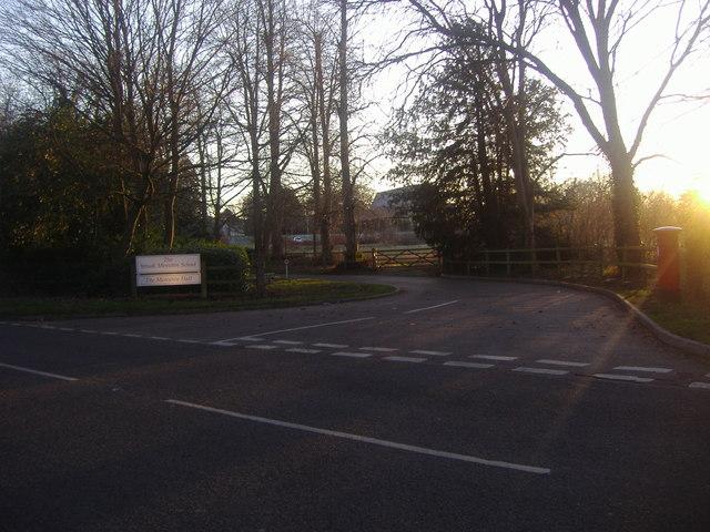 Entrance to Yehudi Menuhin School