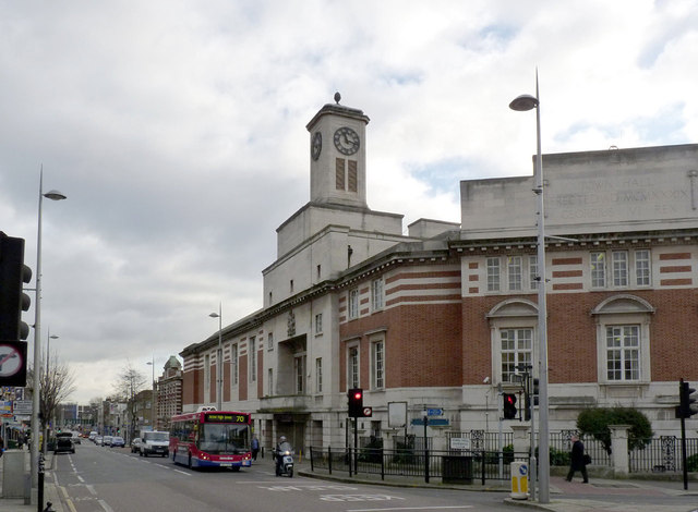 Acton Town Hall  Alan MurrayRust ccbysa20  Geograph Britain and Ireland
