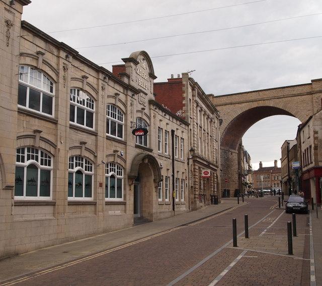 Mansfield Notts Church Street  David HallamJones  Geograph Britain and Ireland