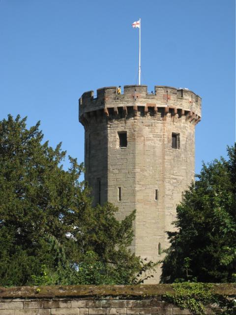 Northwest side of Guys Tower Warwick  Robin Stott cc