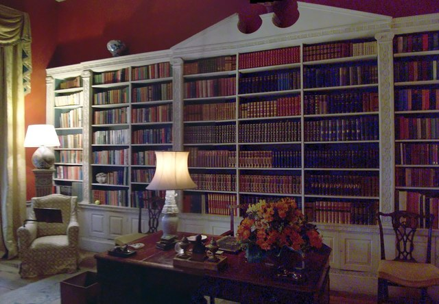 Basildon Park Library  Len Williams ccbysa20  Geograph Britain and Ireland