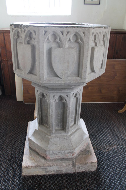 Font All Saints Church Orby 169 J Hannan Briggs