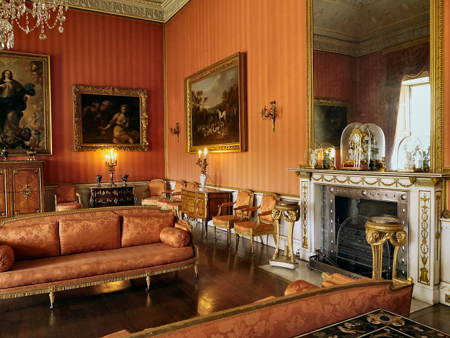 The Red Drawing Room Shugborough Hall  David Dixon ccby