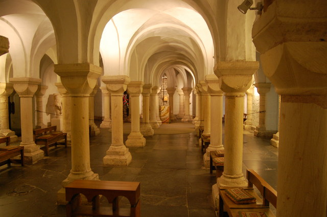 The Crypt Chapel Worcester Cathedral Julian P Guffogg
