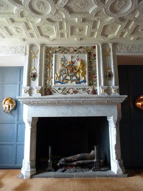Edinburgh Castle  Fireplace in Royal  Rob Farrow  Geograph Britain and Ireland