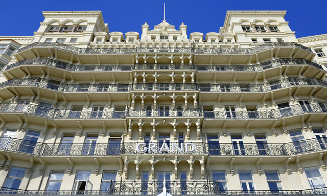The Grand Hotel Brighton  Peter Tarleton ccbysa20  Geograph Britain and Ireland