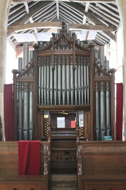 Organ St John the Baptist church  JHannanBriggs cc
