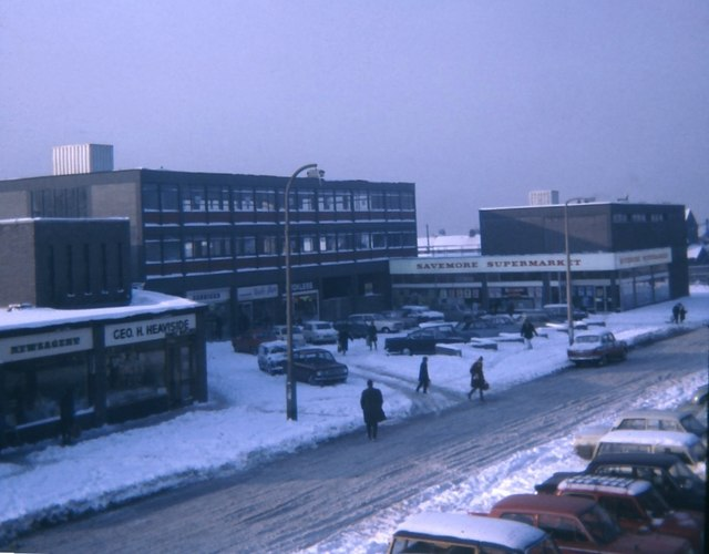 Shops at Forest Hall  Paul Franks ccbysa20  Geograph Britain and Ireland