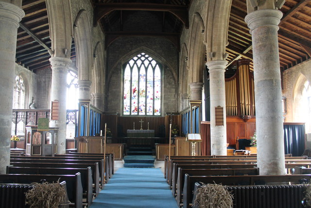 Interior St John the Baptist church  JHannanBriggs ccbysa20  Geograph Britain and