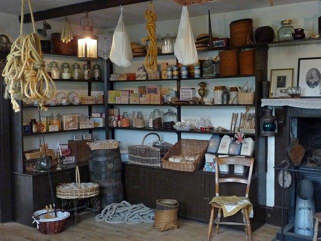 Victorian Shop Interior 1 Morwellham  Robin Drayton