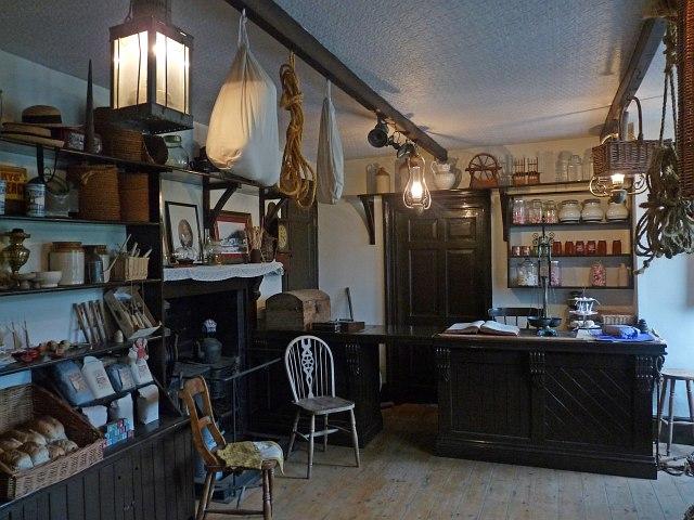 Victorian Shop Interior 2 Morwellham Robin Drayton