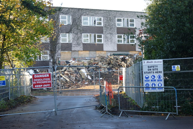 Demolition of Bridges Hall University  Simon Mortimer