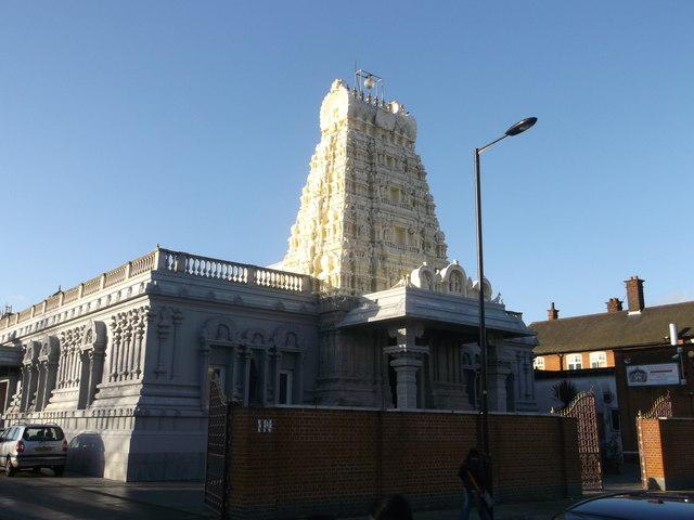 The London Sri Murugan Temple Little  David Anstiss