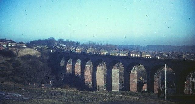 Railway Viaduct at ChesterleStreet  Derek Harper  Geograph Britain and Ireland