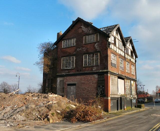 Derelict Building at New Islington  Gerald England