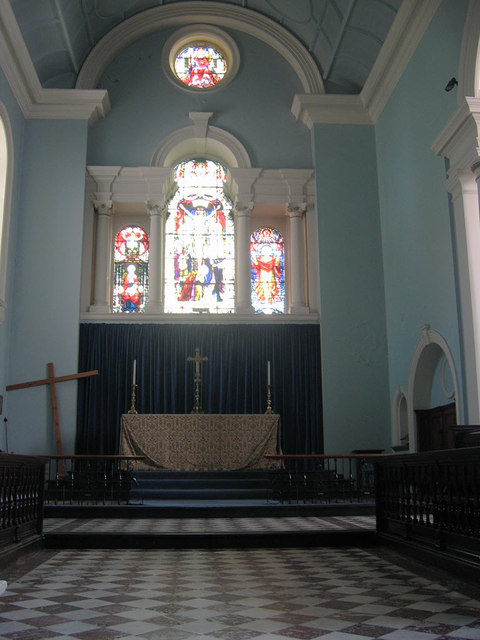 St Mary Magdalene Woolwich chancel  Stephen Craven cc