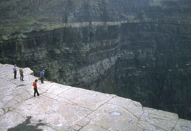 Nearing The Edge Cliffs Of Moher Jim Barton Cc By Sa2