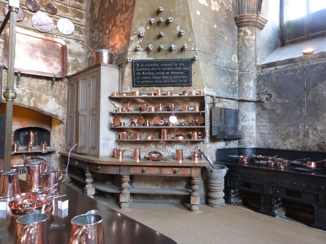 The Kitchen Burghley House Derek Voller Cc By Sa20