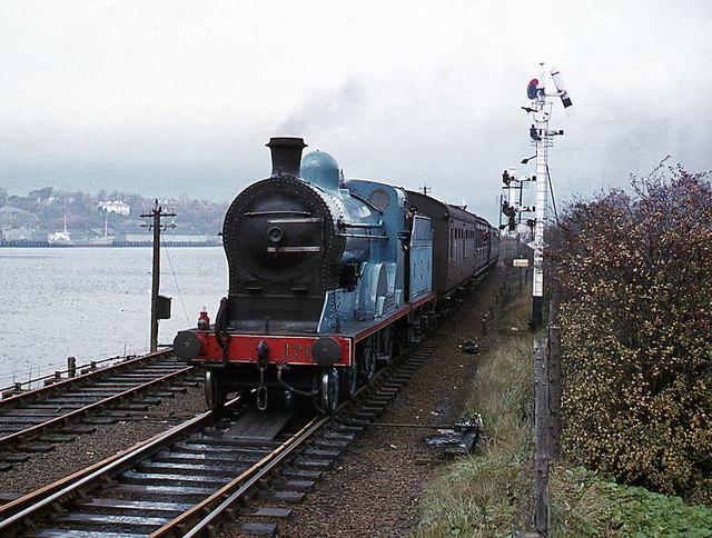 Steam train at Waterside  1977  The Carlisle Kid  Geograph Ireland