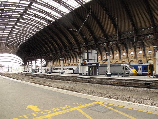 York station platform 6  Stephen Craven  Geograph