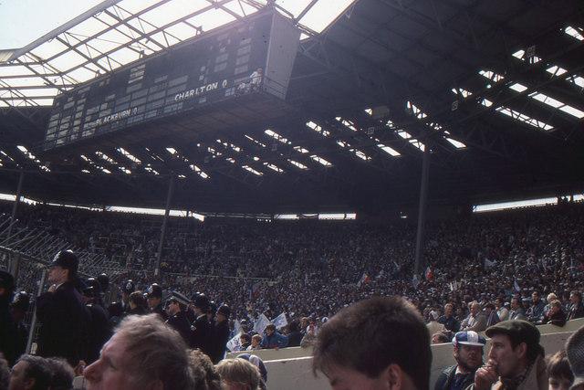 Wembley Stadium The Old Stadium West 169 Christopher