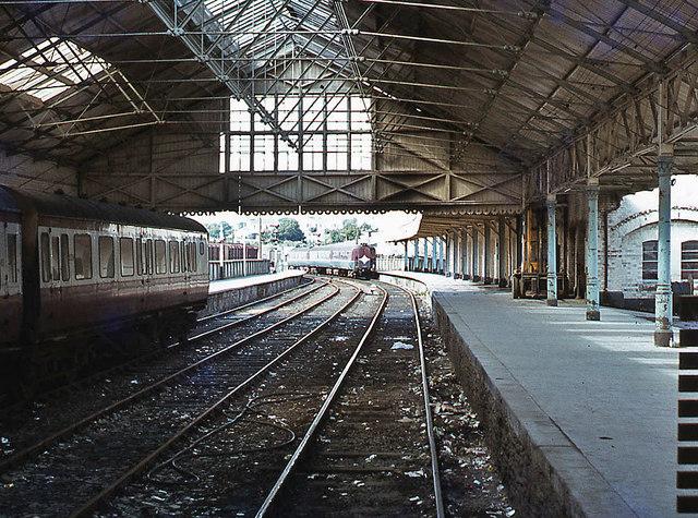 Waterside Station Interior June 1979 169 The Carlisle