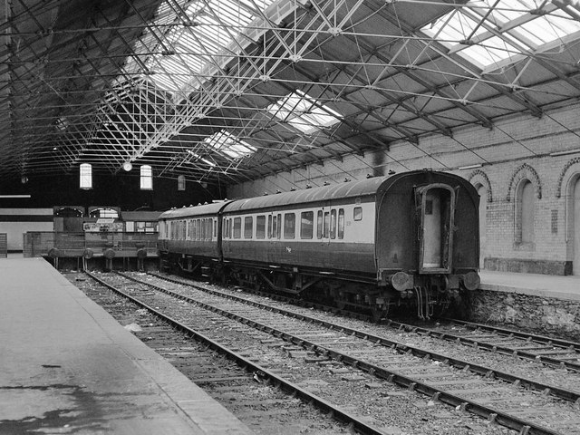 Waterside station interior  June 1979  The Carlisle