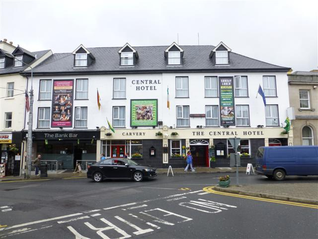 The Central Hotel Donegal C Kenneth Allen Cc By Sa 2 0