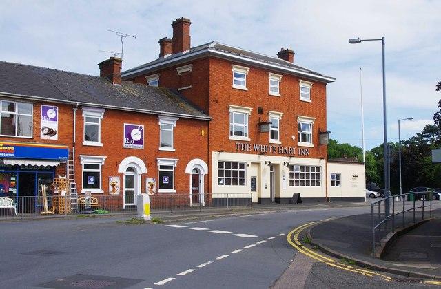 The White Hart Inn 1 157 Evesham  P L Chadwick cc