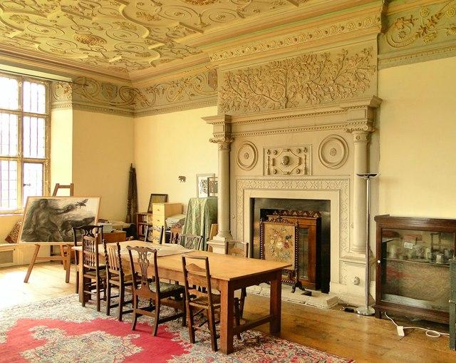 Great Chamber Kinnersley Castle  Philip Pankhurst ccby