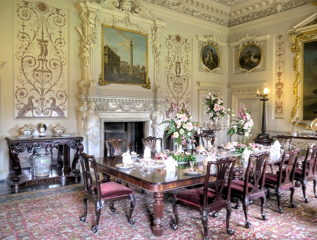 Nostell Priory State Dining Room  David Dixon