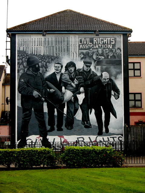 Derry  Bogside  Bloody Sunday Mural    Joseph