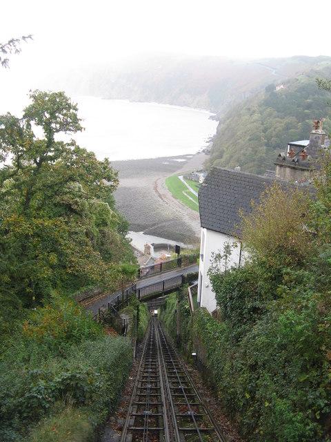 Lynton  Lynmouth Cliff Railway  M J Richardson