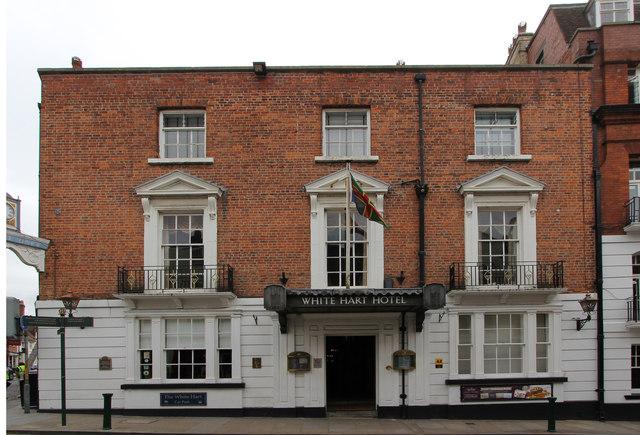 White Hart Hotel  Richard Croft  Geograph Britain and