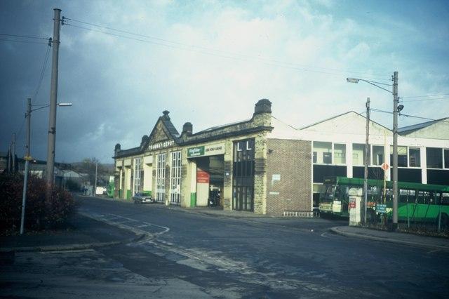 Former Trolleybus depot Huddersfield  David Hillas ccbysa20  Geograph Britain and Ireland