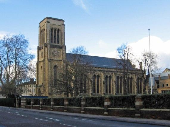 Bedford - Holy Trinity Church on Bromham © Dave Bevis cc-by-sa