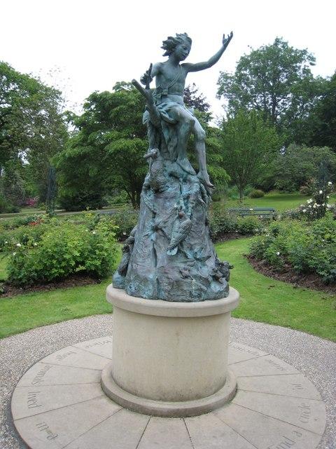 Pan Statue Sheffield Botanical Gardens 169 Graham Robson
