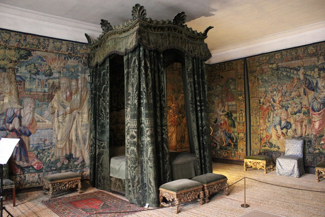The Green Velvet Bedroom at Hardwick  Jeff Buck ccbysa20  Geograph Britain and Ireland