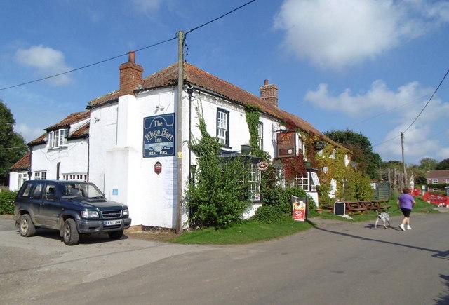 White Hart Inn Tetford  Ian S ccbysa20  Geograph
