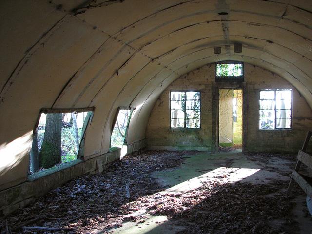 Asbestos Hut Interior Evelyn Simak Geograph Britain