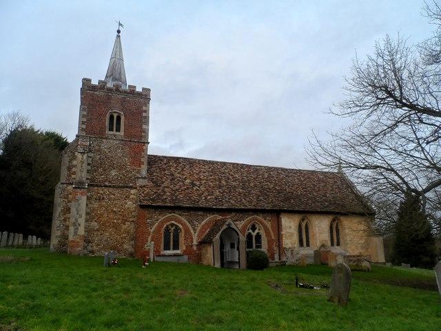 St Nicholas' church, Arrington © Bikeboy cc-by-sa/2.0 :: Geograph