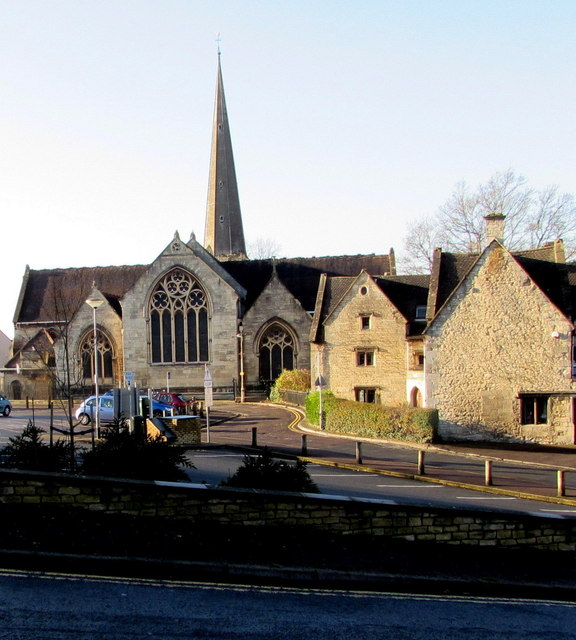 East side of St Laurence church and © Jaggery cc-by-sa/2.0