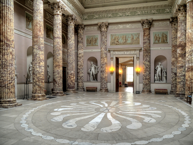 The Marble Hall Kedleston Hall C David Dixon
