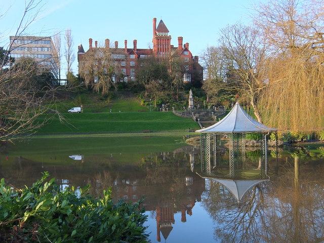 Flooded Gazebo In Miller Park Preston 169 Adam C Snape