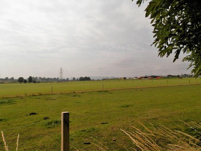Farmland between East Bank and West Bank  Douglas