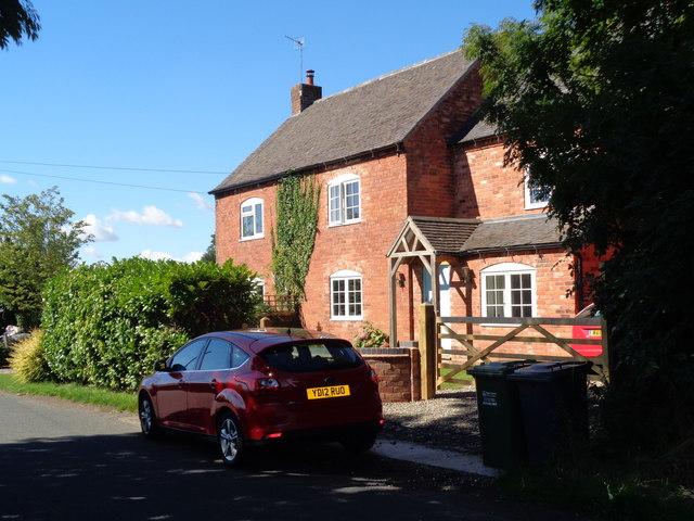 House on Clattercut Lane, Rushock, © Jeff Gogarty cc-by-sa/2.0