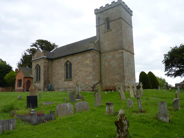 St Michael's Church, Rushock (2) © Jeff Gogarty cc-by-sa/2.0