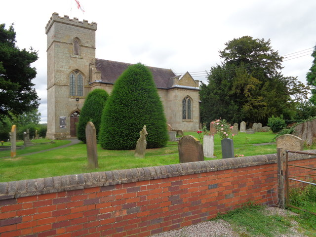 Rushock Church from outside churchyard © Jeff Gogarty cc-by-sa/2.0