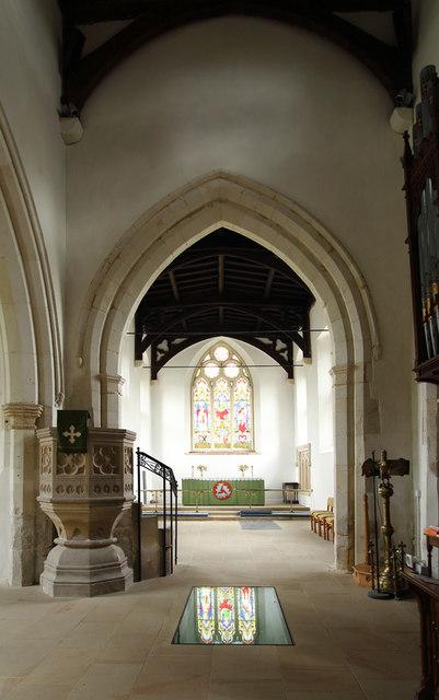 St Peter & St Paul, Dry Drayton - East © John Salmon cc-by-sa