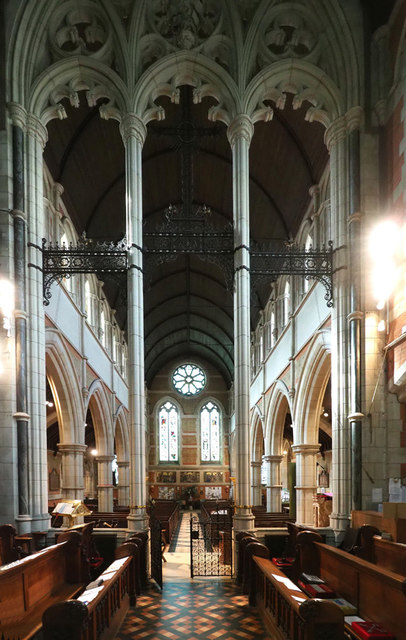 Holy Trinity, Ponsonby Road, Roehampton © John Salmon
